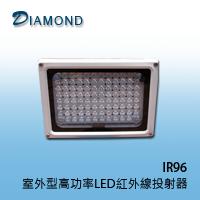 IR96 50米室外型高功率LED紅外線投射器