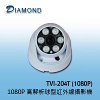 TVI-204T(1080P) 高解析紅外線半球攝影機