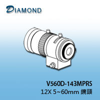 V560D-143MPRS 12X 5~60mm 鏡頭