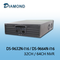 DS-9632N-I16 / DS-9664N-I16 32CH / 64CH NVR