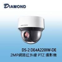 DS-2 DE4A220IW-DE  H.265 2MP網路紅外線 PTZ 攝影機