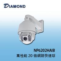 NP6202HAIB 高性能 20 倍網路快速球