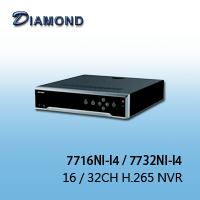 7716NI-I4. 7732NI-I4 16 / 32CH H.265 NVR