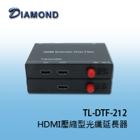 TL-DTF-212 HDMI壓縮型光纖延長器 (光纖設備)