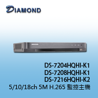 DS-7208HQHI-K1 10ch 5M H.265 1HDD XVR