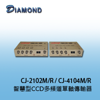 CJ-2102M/R / CJ-4104M/R 智慧型CCD多頻道單軸傳輸器