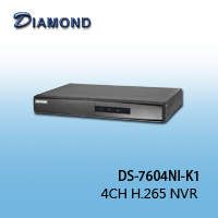DS-7604NI-K1 4CH H.265 NVR