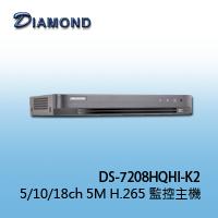 DS-7208HQHI-K2 10CH 5M H.265 2HDD XVR