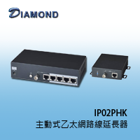 IP02PHK 主動式乙太網路線延長器