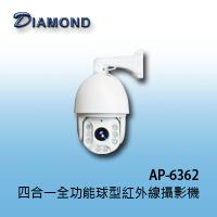AP-6362 四合一 1080P 全功能球型紅外線攝影機