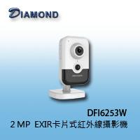 DFI6253W 2MP  EXIR卡片式紅外線攝影機