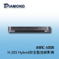 AWIC-5008 10CH 5M H.265 Hybrid安全監控錄影機
