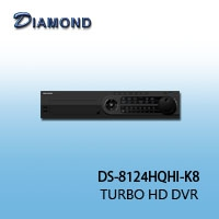 DS-8124HQHI-K8 H.265 TURBO HD DVR