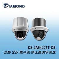 DS-2AE4225T-D3  2MP 25X 星光級 類比高清快速球