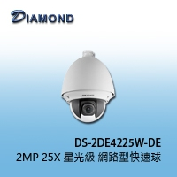 DS-2DE4225W-DE 2MP 25X 星光級 網路型快速球