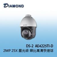 DS-2AE4225TI-D  2MP 25X 星光級 類比高清快速球