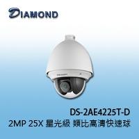 DS-2AE4225T-D 2MP 25X 星光級 類比高清快速球
