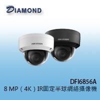 DFI6856A 8 MP(4K)IR固定半球網絡攝像機