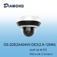 DS-2DE2A404IW 4MP 4倍 紅外線PTZ網路攝影機