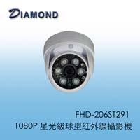 FHD-206ST291星光級球型紅外線攝影機