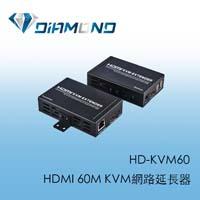 HD-KVM60 HDMI 60M KVM網路延長器