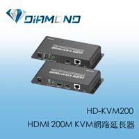 HD-KVM200 HDMI 200M KVM網路延長器