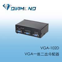 VGA-102D VGA一進二出分配器