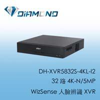 DH-XVR5832S-4KL-I2 大華 32 路 4K-N/5MP  WizSense 人臉辨識 XVR