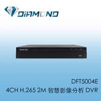 DFT5004E BENELINK 4CH H.265 2M 智慧影像分析 DVR