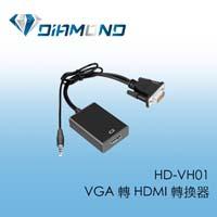 HD-VH01  VGA 轉 HDMI 轉換器