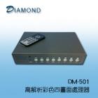 DM-501 高解析彩色四畫面處理器