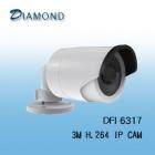 DFI6317 3M IR圓管 槍型網路攝影機