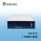 DM-81D 1-8視頻影像分配器