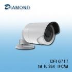 DFI6717 1M H.264 紅外線槍型網路攝影機