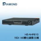 HS-AHR610 AHD數位錄放影機