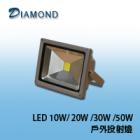 LED 10W/ 20W /30W /50W 戶外投射燈