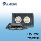 LED 100W  戶外投射燈