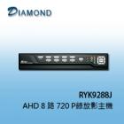 9288JAHD 8路類比高清720P主機