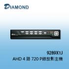 9287J AHD 4路類比高清720P主機