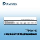TPP016HD 16路被動機架式高清影像雙絞線傳輸器