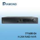 7716NI-E4 16 / 32CH H.264 RAID NVR