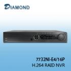 7732NI-E4/16P 32CH RAID NVR 4 HDD+ 16 POE