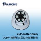AHD-204D(1080P) 高解析球型紅外線攝影機