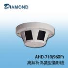 AHD-710 (960P) 960P偵煙型攝影機