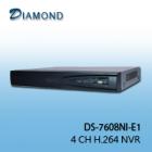 DS-7608NI-E1  8 CH H.264 NVR