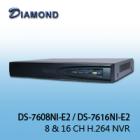 DS-7608NI-E2 8CH H.264 NVR