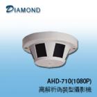 AHD-710(1080P) 1080P 偵煙型攝影機