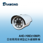 AHD-708D(1080P) 1080P AHD 日夜兩用夜視型紅外線攝影機