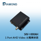 SKV-1000AH  1 Port AHD Video 光電轉換器