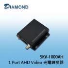 SKV-1000AH  1 Port AHD Video 光電轉換器